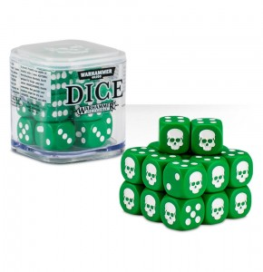 Citadel 12 mm Dice Cube - GREEN