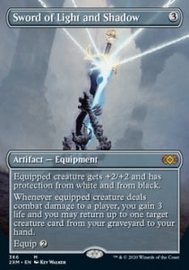 Sword of Light and Shadow BORDERLESS