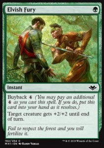 Elvish Fury Foil
