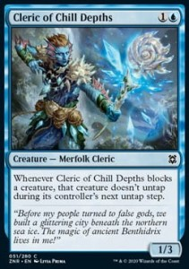 Cleric of Chill Depths FOIL
