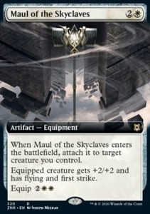 Maul of the Skyclaves BORDERLESS FOIL