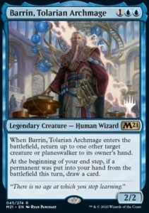 Barrin, Tolarian Archmage PROMO FOIL