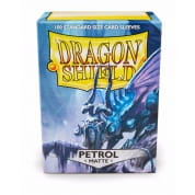 Dragon Shield Sleeves - Petrol 100