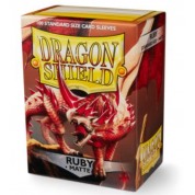 Dragon Shield Sleeves - Ruby 100