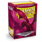 Dragon Shield Sleeves - Magneta 100