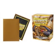 Dragon Shield Sleeves - Gold 100