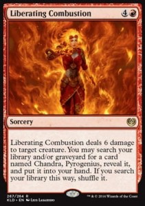 Liberating Combustion