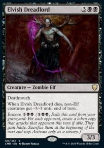Elvish Dreadlord FOIL