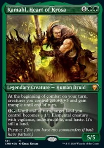 Kamahl, Heart of Krosa EXT FOIL