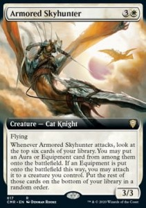 Armored Skyhunter Borderless