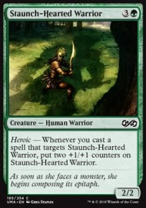 Staunch-Hearted Warrior FOIL