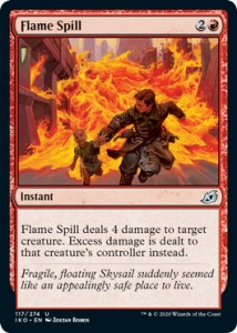 Flame Spill FOIL