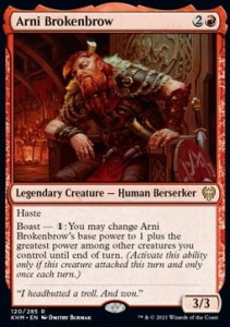 Arni Brokenbrow FOIL