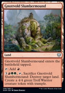 Gnottvold Slumbermound FOIL