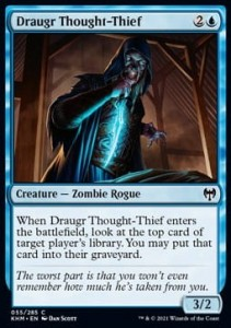 Draugr Thought-Thief FOIL
