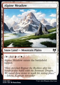 Alpine Meadow FOIL