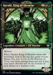 Harald, King of Skemfar ALT FOIL