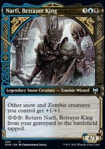 Narfi, Betrayer King ALT FOIL