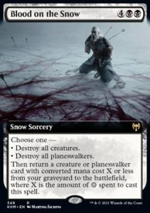 Blood on the Snow BORDERLESS