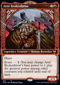 Arni Brokenbrow ALT FOIL