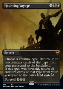 Haunting Voyage Borderless FOIL
