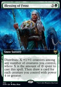 Blessing of Frost Borderless FOIL