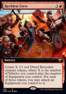 Reckless Crew BORDERLESS FOIL
