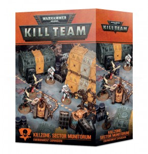 Warhammer 40,000: Kill Team Killzone - Sector Munitorum Environment Expansion