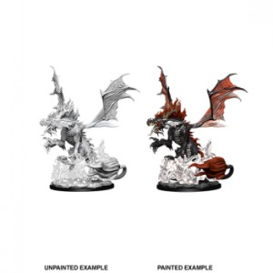 Pathfinder Battles Deep Cuts Unpainted Miniatures - Nightmare Dragon