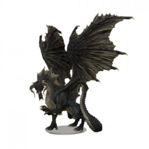 D&D Icons of the Realms: Adult Black Dragon Premium Figure