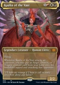 Kaalia of the Vast BORDERLESS FOIL