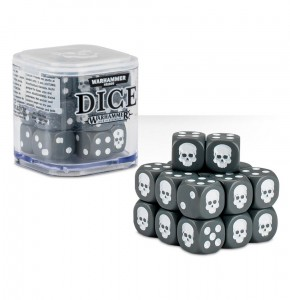 Citadel 12 mm Dice Cube - GREY