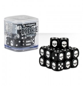 Citadel 12 mm Dice Cube - BLACK