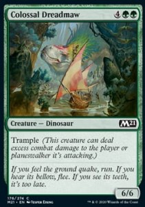 Colossal Dreadmaw FOIL