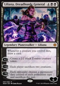 Liliana, Dreadhorde General FOIL