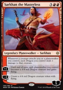 Sarkhan the Masterless FOIL