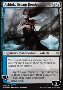 Ashiok, Dream Render FOIL