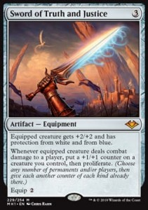Sword of Truth and Justice FOIL
