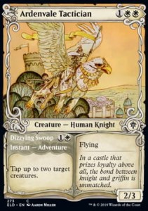 Ardenvale Tactician // Dizzying Swoop Alt FOIL