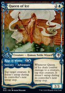 Queen of Ice // Rage of Winter Alt FOIL