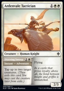 Ardenvale Tactician // Dizzying Swoop FOIL