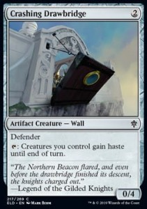 Crashing Drawbridge FOIL