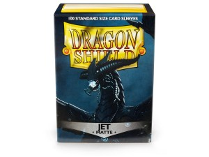 Dragon Shield Sleeves - Jet Matte 100