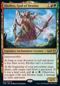 Klothys, God of Destiny FOIL