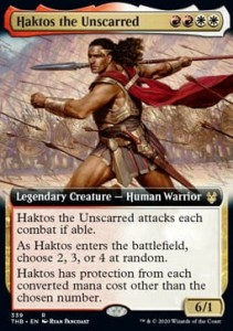 Haktos the Unscarred ALT FOIL