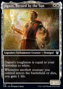 Daxos, Blessed by the Sun ALT FOIL