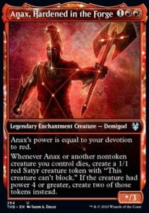 Anax, Hardened in the Forge ALT FOIL