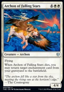 Archon of Falling Stars FOIL
