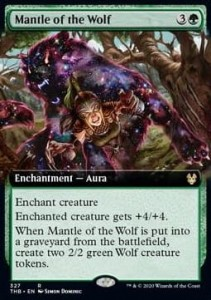Mantle of the Wolf FOIL ALT