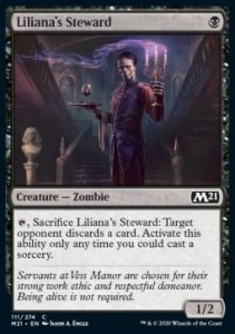 Liliana's Steward FOIL